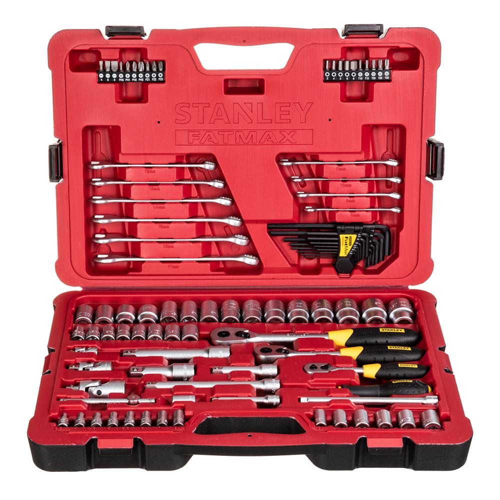 Набор торцевых головок Stanley Fatmax (FMHT0-73925) (96 шт.) set tools kraton ts 23 socket 150 1 4 3 8 1 2