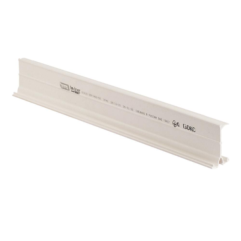 Фото - Разделитель для кабель-канала DKC (01415) 100х60 мм белый угол внутренний для кабель канала dkc 01823 nia 60х40 мм неизменяемый