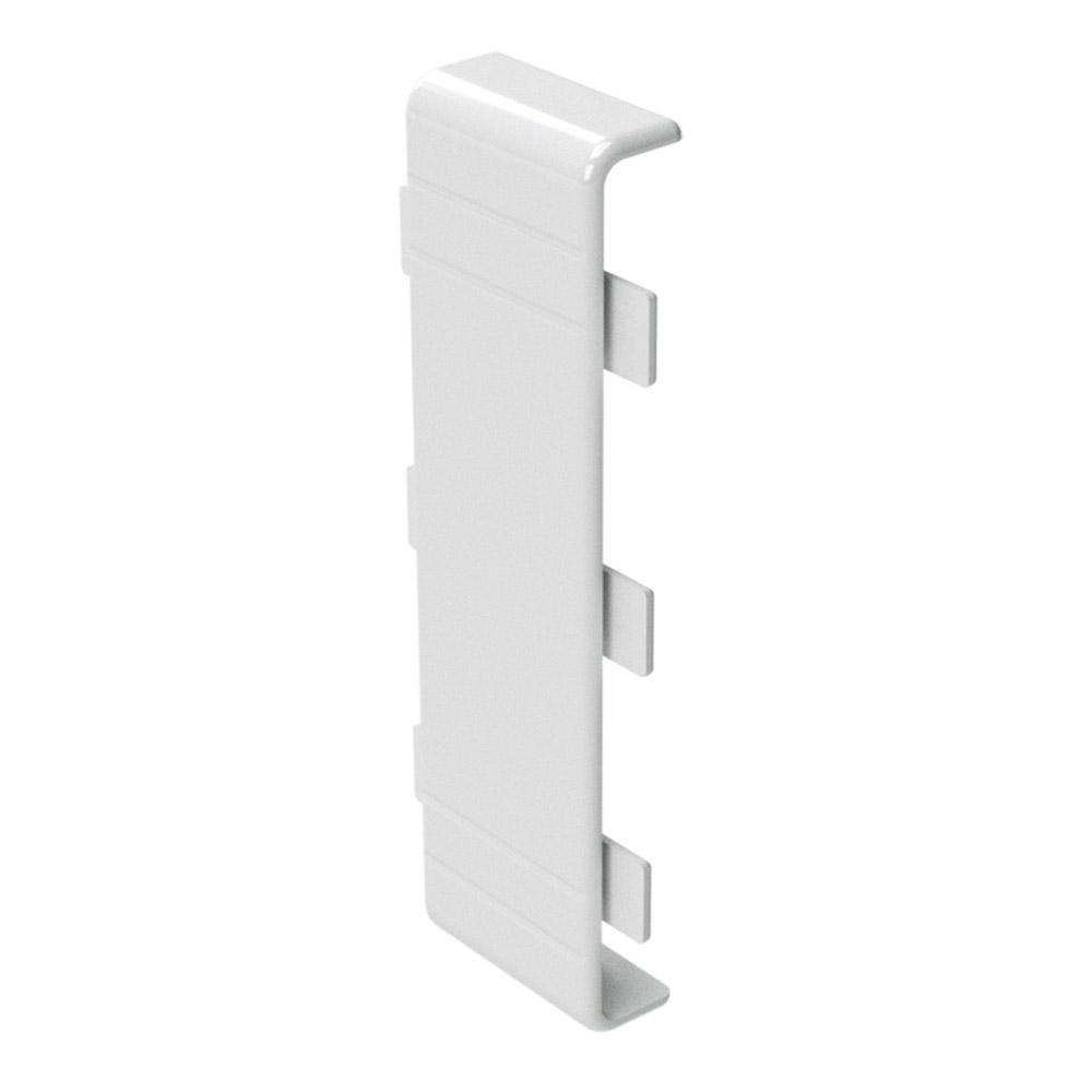 Фото - Соединение на стык крышки кабель-канала DKC (00886) 80х40 мм белое угол внутренний для кабель канала dkc 01823 nia 60х40 мм неизменяемый