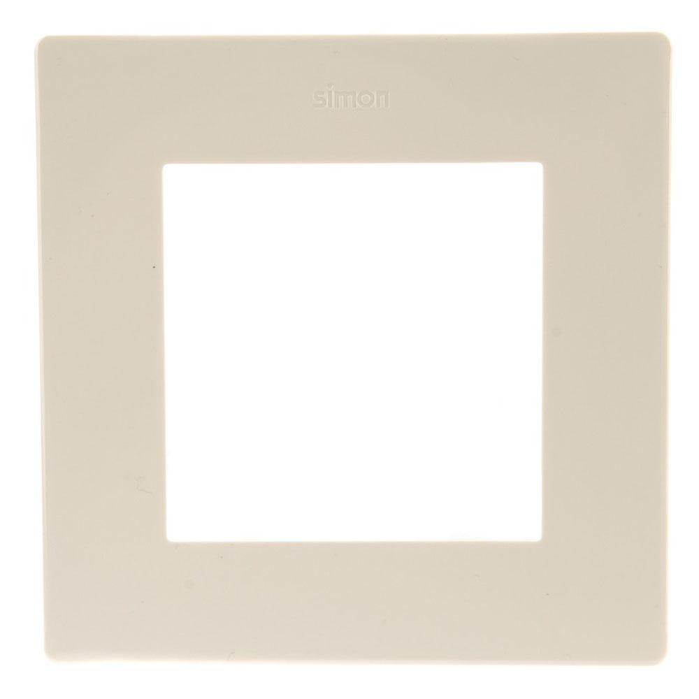 Рамка Simon 24 Harmonie 2400610-031 одноместная универсальная слоновая кость рамка simon 24 harmonie 2400630 066 трехместная универсальная золото