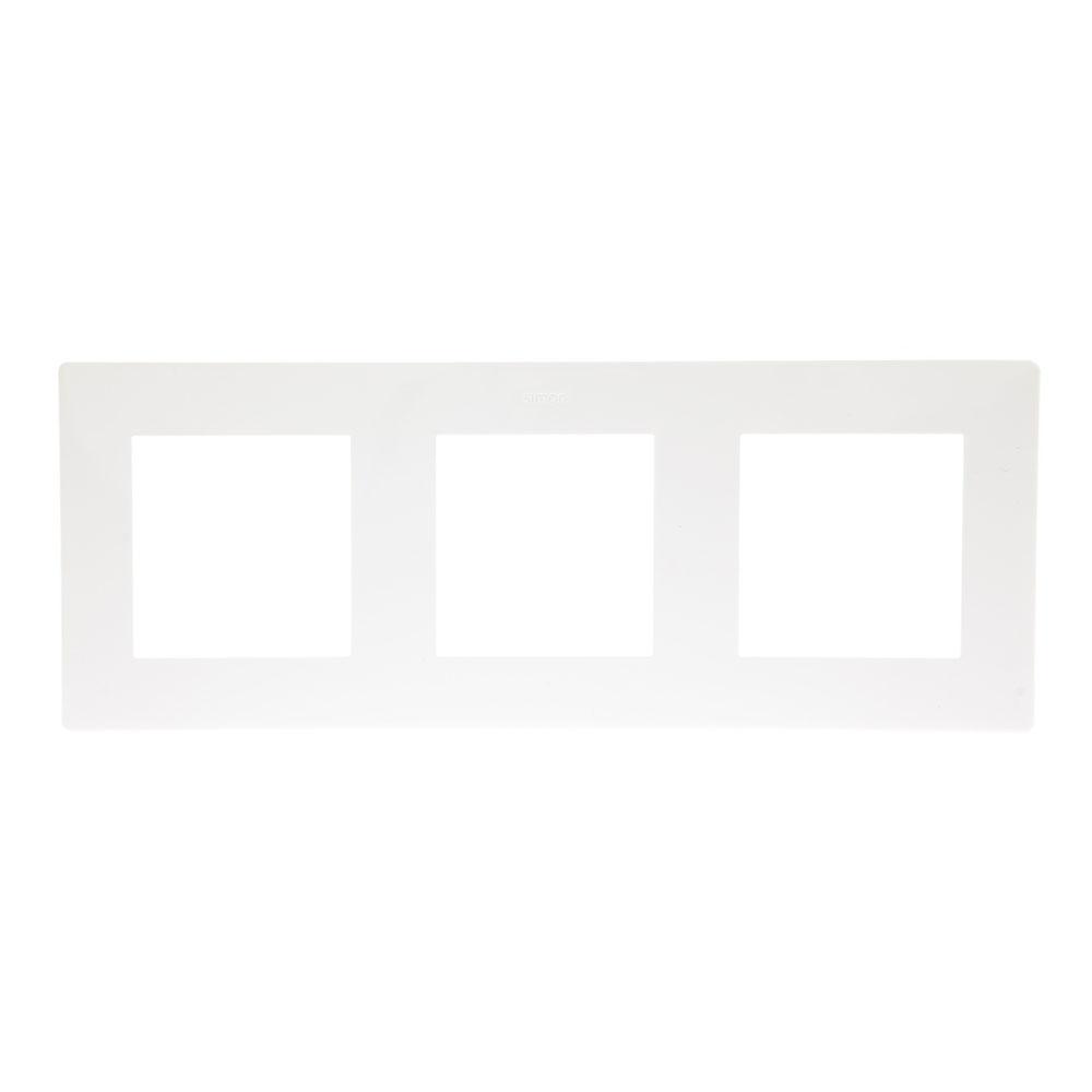 Рамка Simon 24 Harmonie 2400630-030 трехместная универсальная белая рамка simon 24 harmonie 2400630 066 трехместная универсальная золото