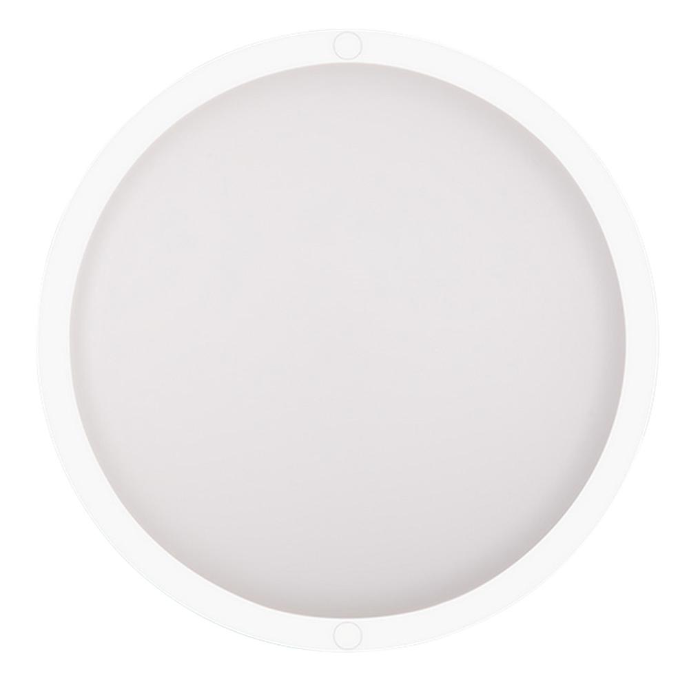 Светильник светодиодный накладной Düwi Round 59х160 мм 12 Вт 220 В дневной свет опал IP65 круглый белый с датчиком движения