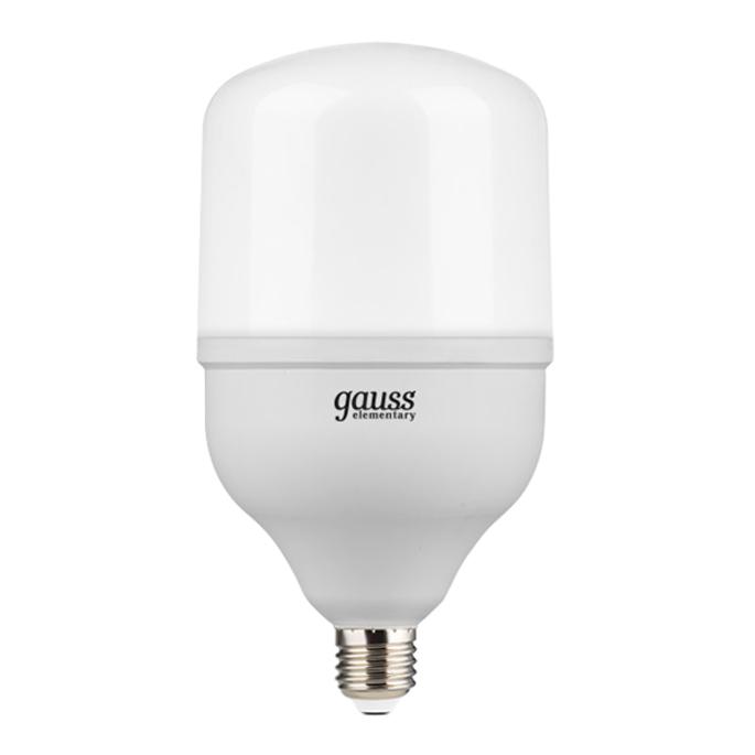 Лампа светодиодная Gauss 42 Вт E27 цилиндр T120 4000 К дневной свет 180-240 В матовая