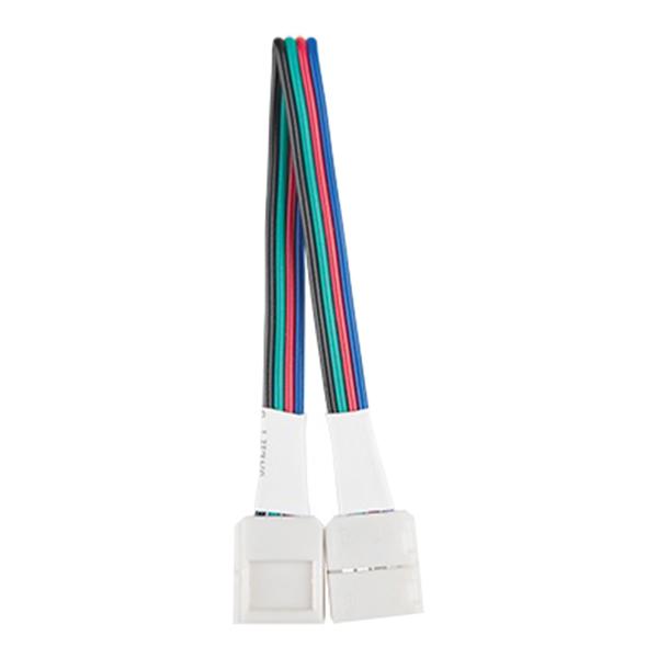 Коннектор для светодиодной ленты RGB Gauss гибкий (3 шт.) коннектор для светодиодной ленты smd 2835 gauss гибкий 3 шт