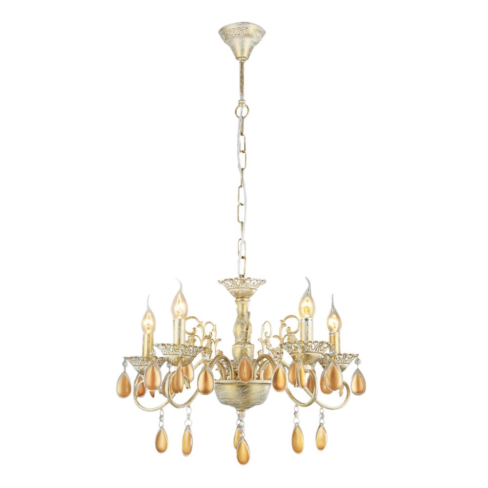 Люстра подвесная ARTE LAMP CIONDOLO (A5676LM-5WG) E14 60 Вт 220 В IP20