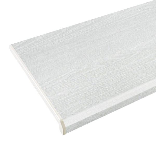 Подоконник пластиковый Danke Lalbero Bianco Премиум 300х2000х18 мм белое дерево матовый