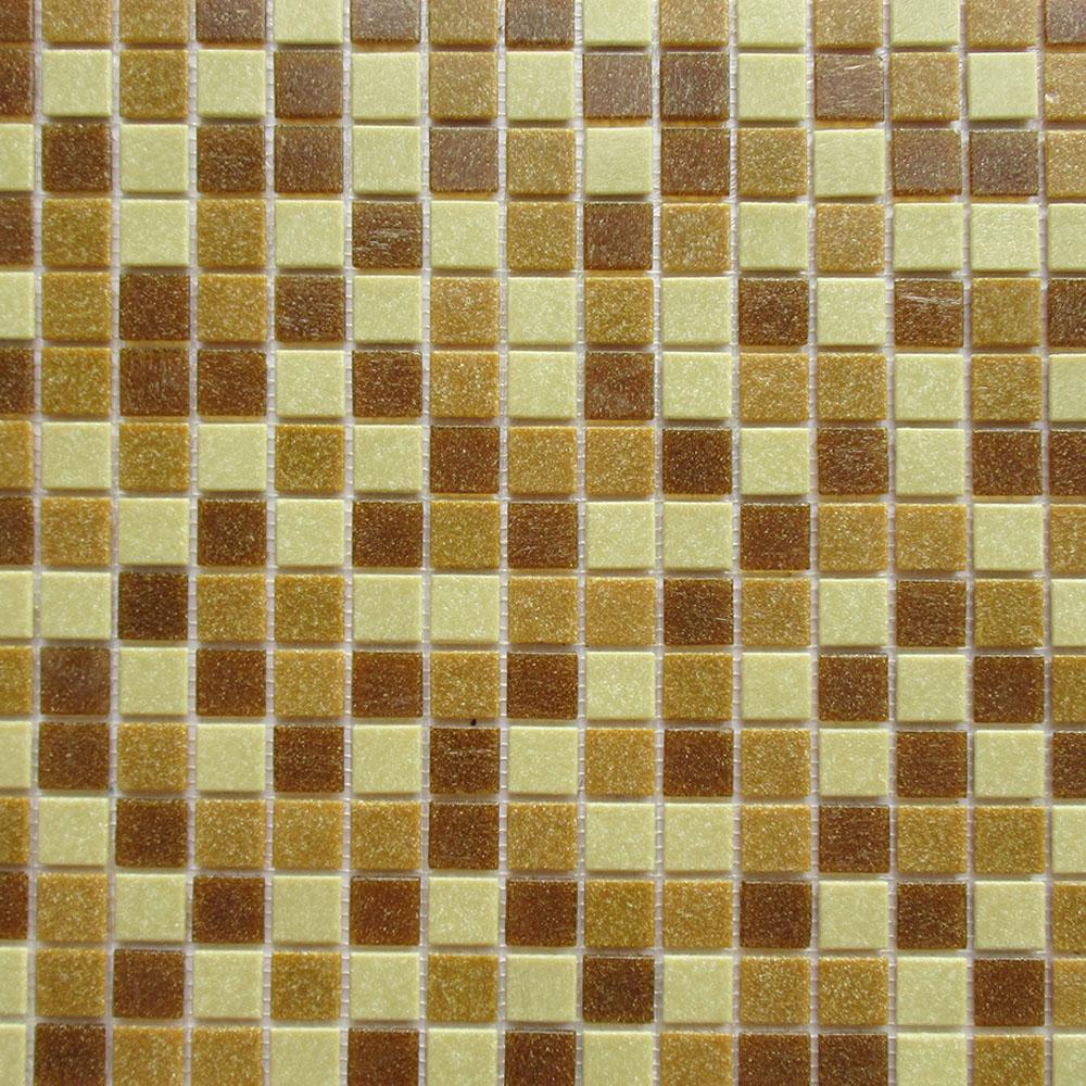 Мозаика Lavelly Yantar/Янтарь из стекломассы 327х327х4 мм матовая (20 шт = 2,139 кв.м)