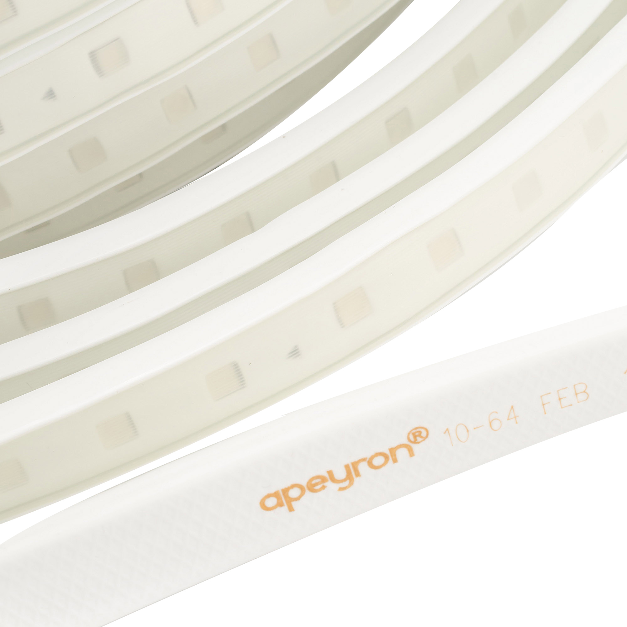 Лента светодиодная SMD 5050 Apeyron RGB свет 10 Вт 220 В IP65 50 м влагозащищенная