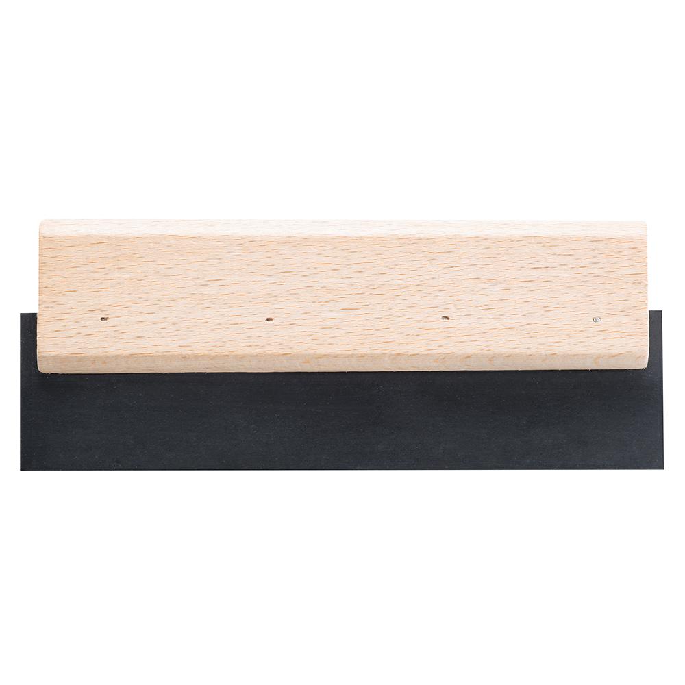 Шпатель для затирания швов Hardy 200 мм резиновый с деревянной ручкой