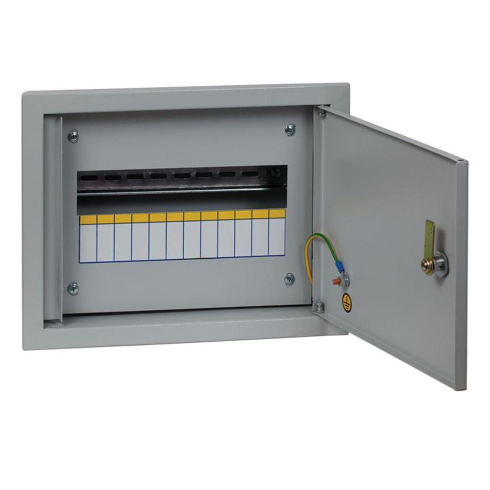 Щит распределительный встраиваемый EKF PROxima ЩРВ-12 металлический IP31 260х340х120 мм 12 модулей
