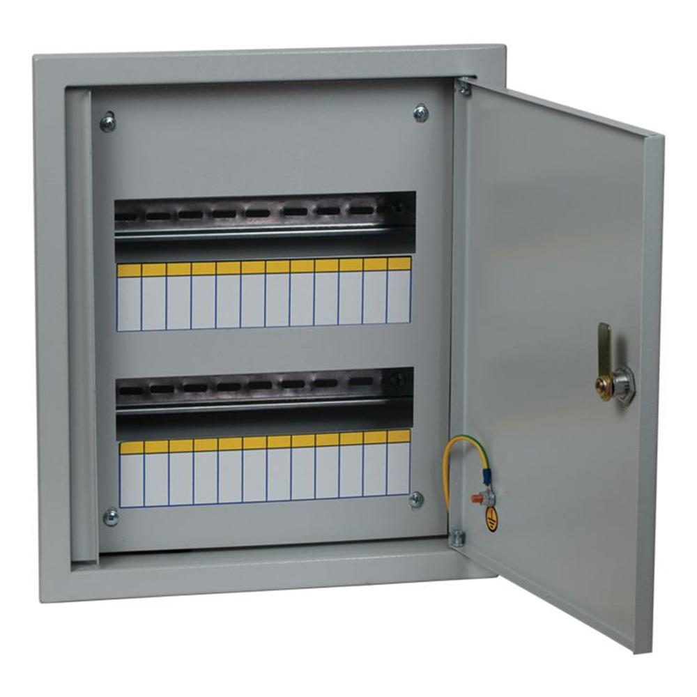 Щит распределительный встраиваемый EKF PROxima ЩРВ-24 металлический IP31 390х340х120 мм 24 модуля