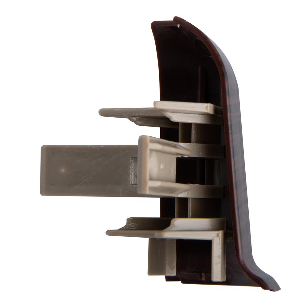 Угол наружный Lider 62 мм орех темный (2 шт.) фото