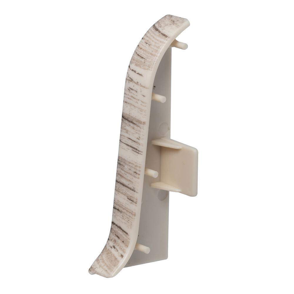 Заглушка торцевая Lider 62 мм дуб полярный левая-правая (2 шт.) фото