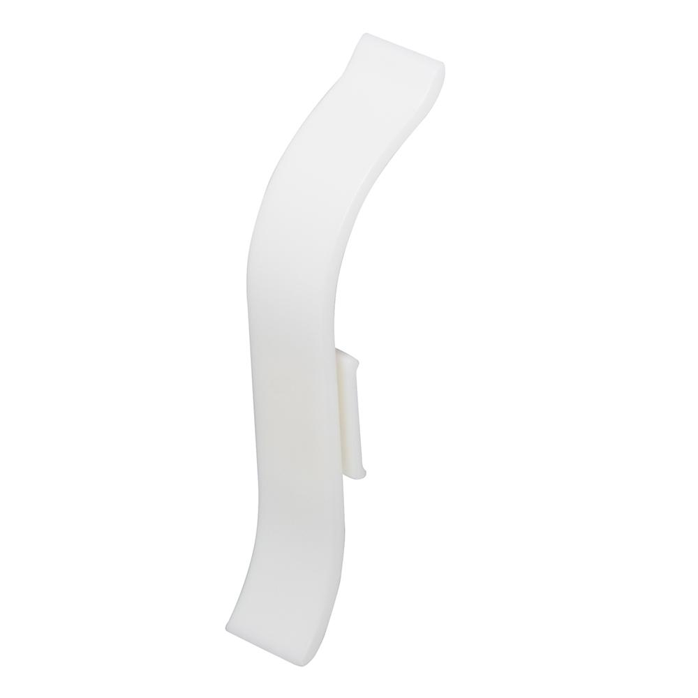 Соединитель Lider 50 мм белый (2 шт)