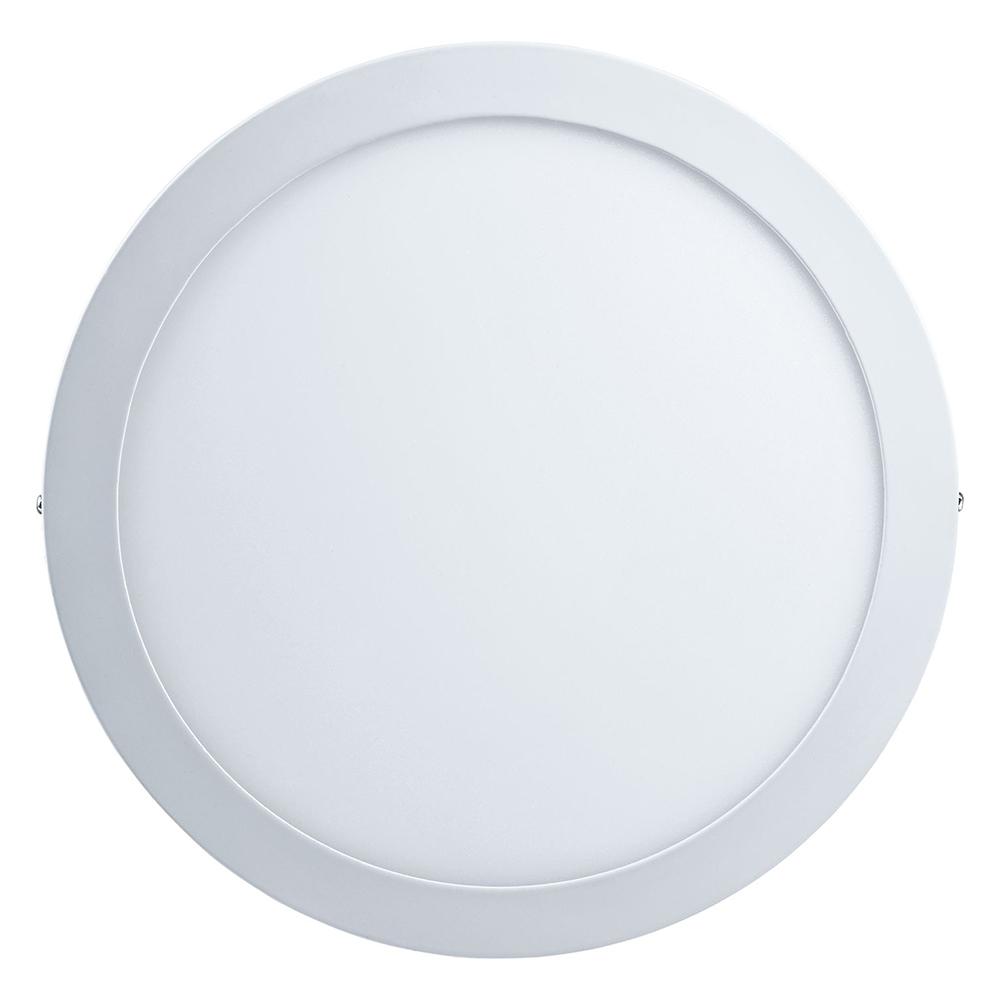 Светильник светодиодный накладной Navigator NLP-RW1-12W-R172-840-WH-LED d300 мм 24 Вт 90-260 В IP20 круглый белый