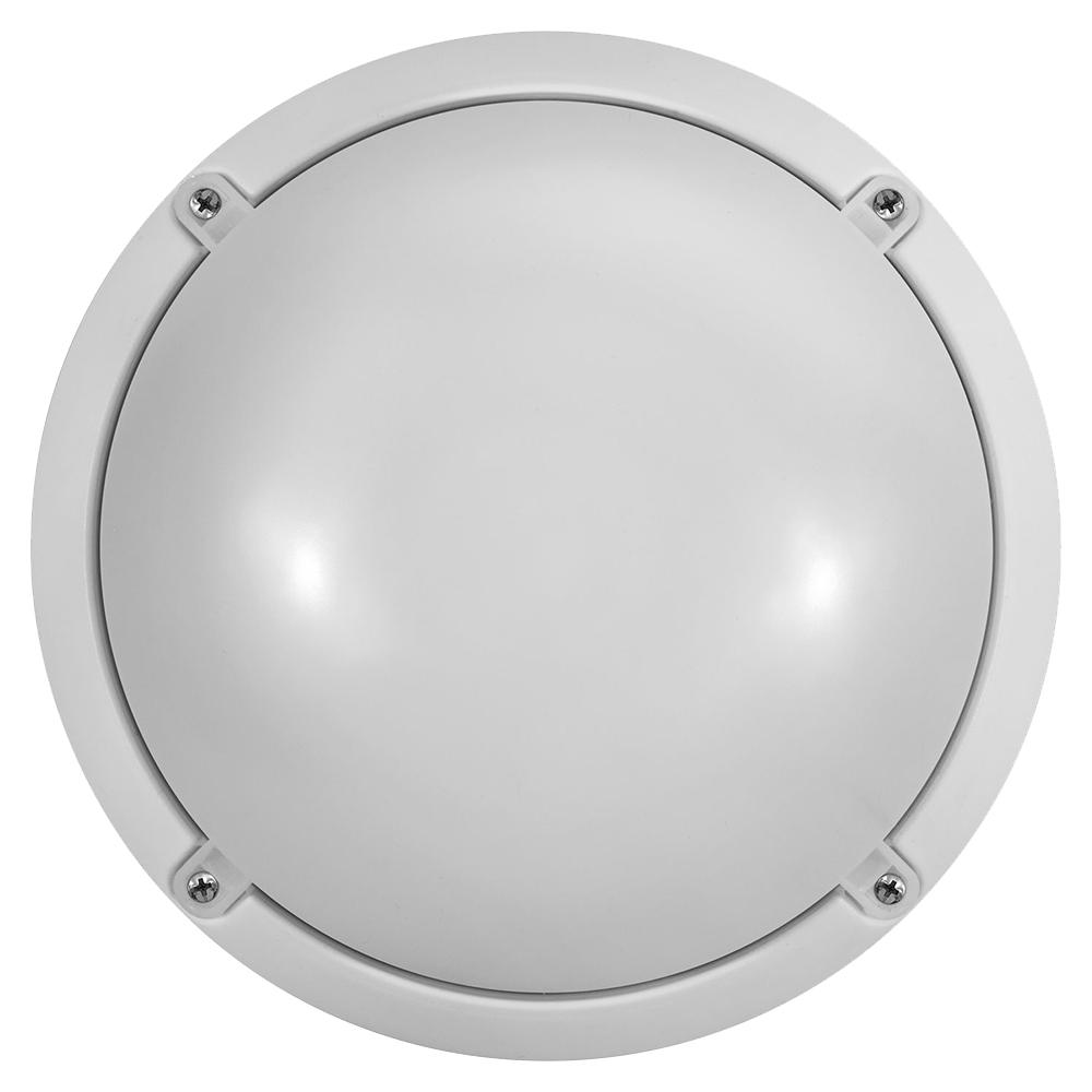 Фото - Светильник светодиодный накладной Онлайт OBL-R1-12-4K-WH-IP65-LED-SNRV LED d225х95 мм 12 Вт 220-240 В 4000 К холодный свет опал IP65 круглый онлайт 61193 светильник светодиодный жкх obl r1 7 6 5k wh ip65 led