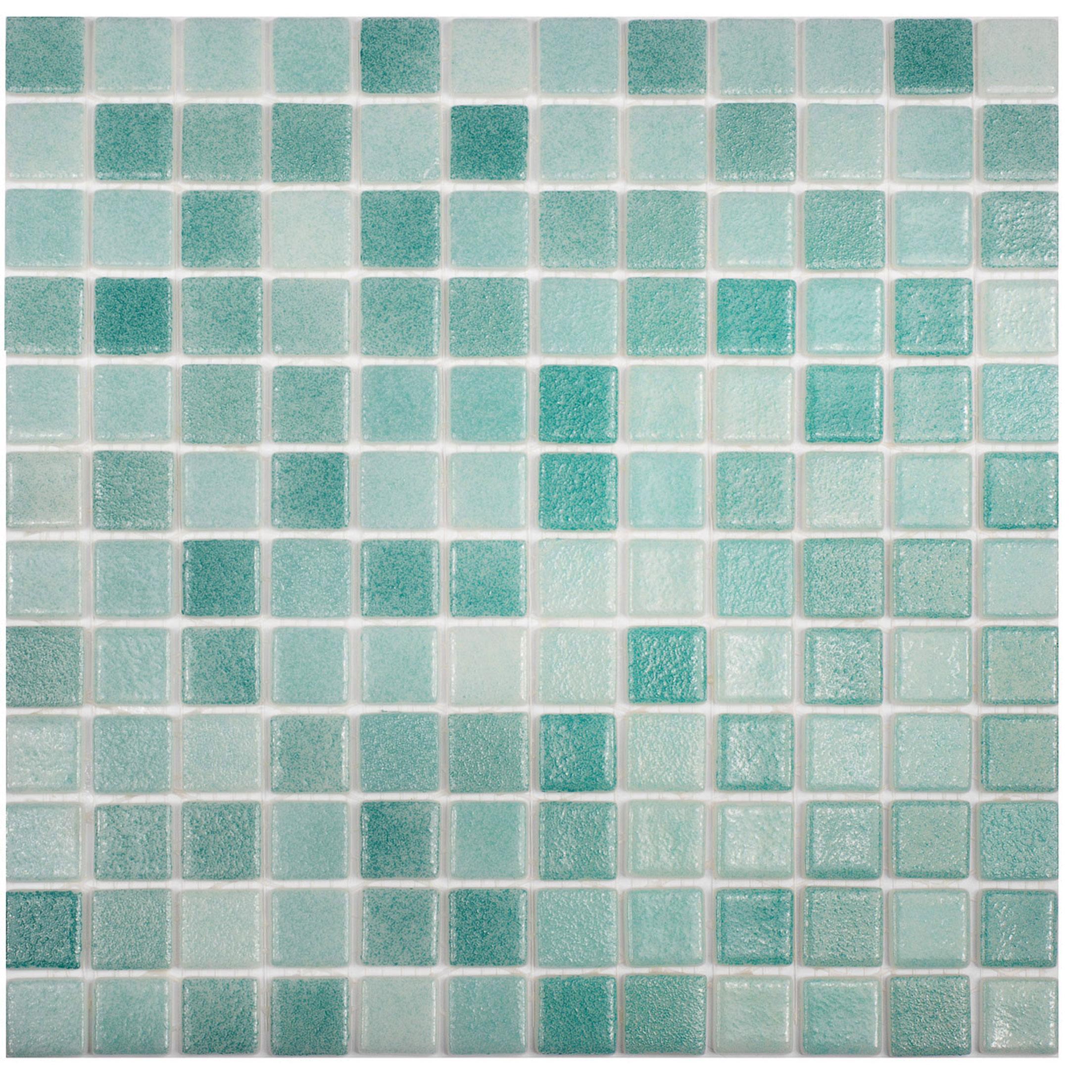 цена на Мозаика Vidrepur Antid № 503/516 микс зеленый стеклянная 317х317х4 мм