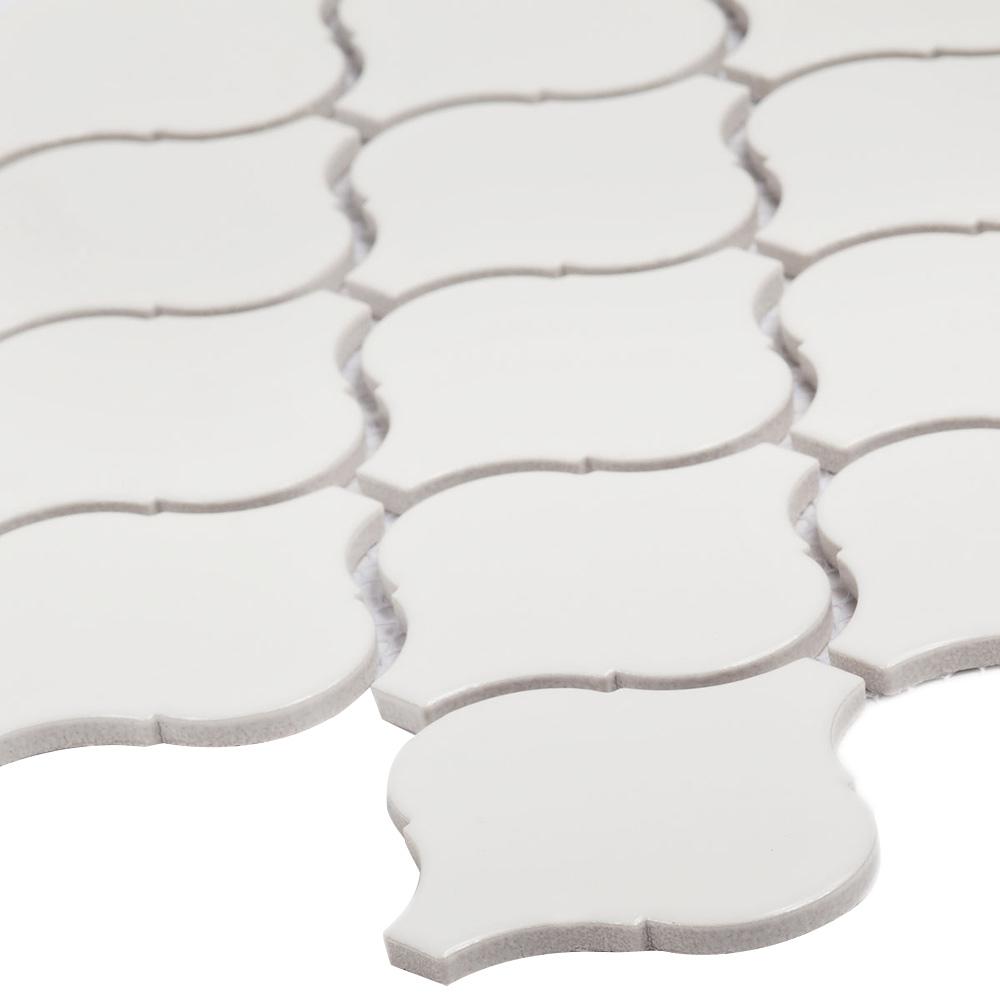 Мозаика Starmosaic Latern белая керамическая 246х280х6 мм матовая