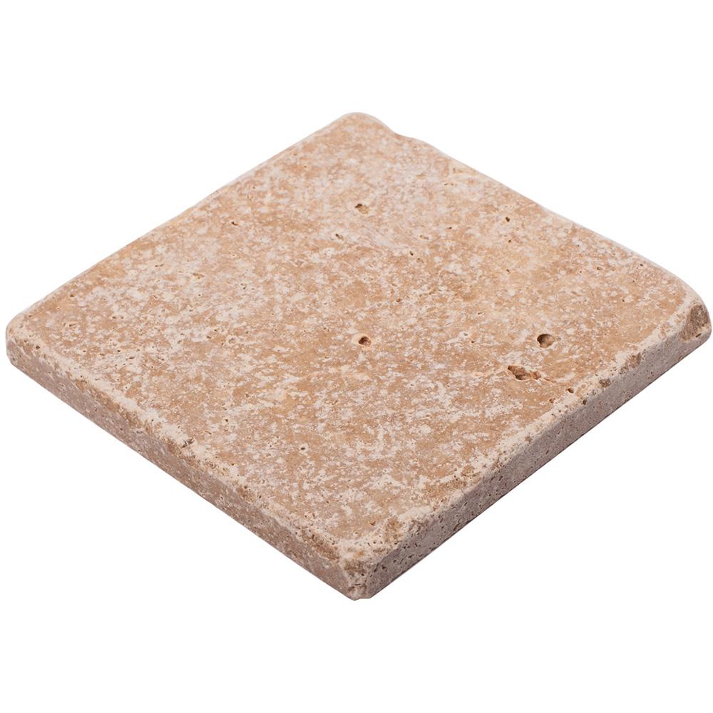 Мозаика Stone4home Toscana травертин из натурального камня 100х100х10 мм матовая (9 шт. на листе)