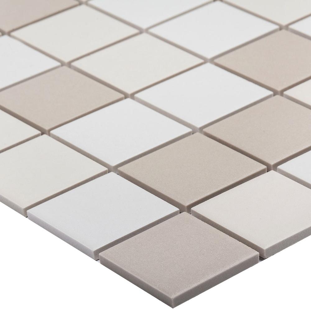 Мозаика Starmosaic LB Mix Antid бежевая керамическая 306х306х6 мм