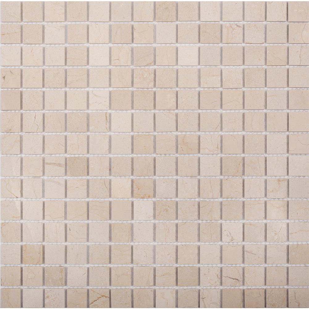 Мозаика Starmosaic Crema Marfil Matt бежевый мрамор из натурального камня 305х305х4 мм матовая