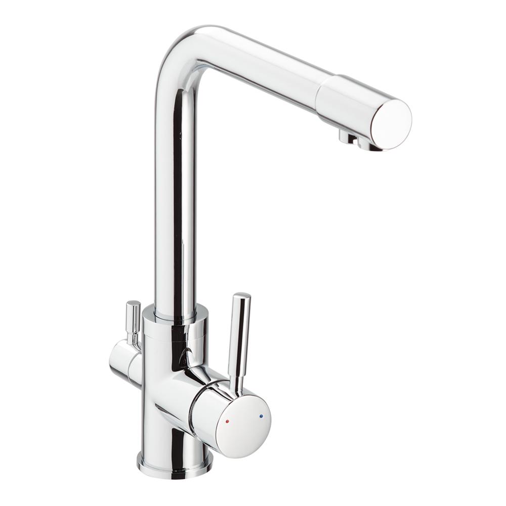 Смеситель для кухни LAVELLY Smart однорычажный с подключением к фильтру для питьевой воды