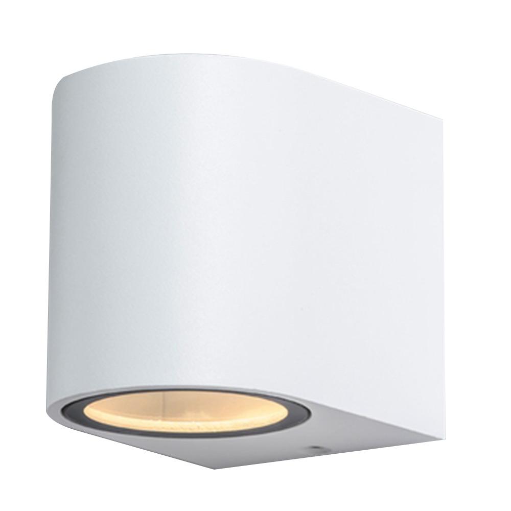Светильник накладной ARTE LAMP (A3102AL-1WH) GU10 90x80x70 мм 35 Вт 220 В IP44 белый светильник накладной arte lamp a3102al 1wh gu10 90x80x70 мм 35 вт 220 в ip44 белый