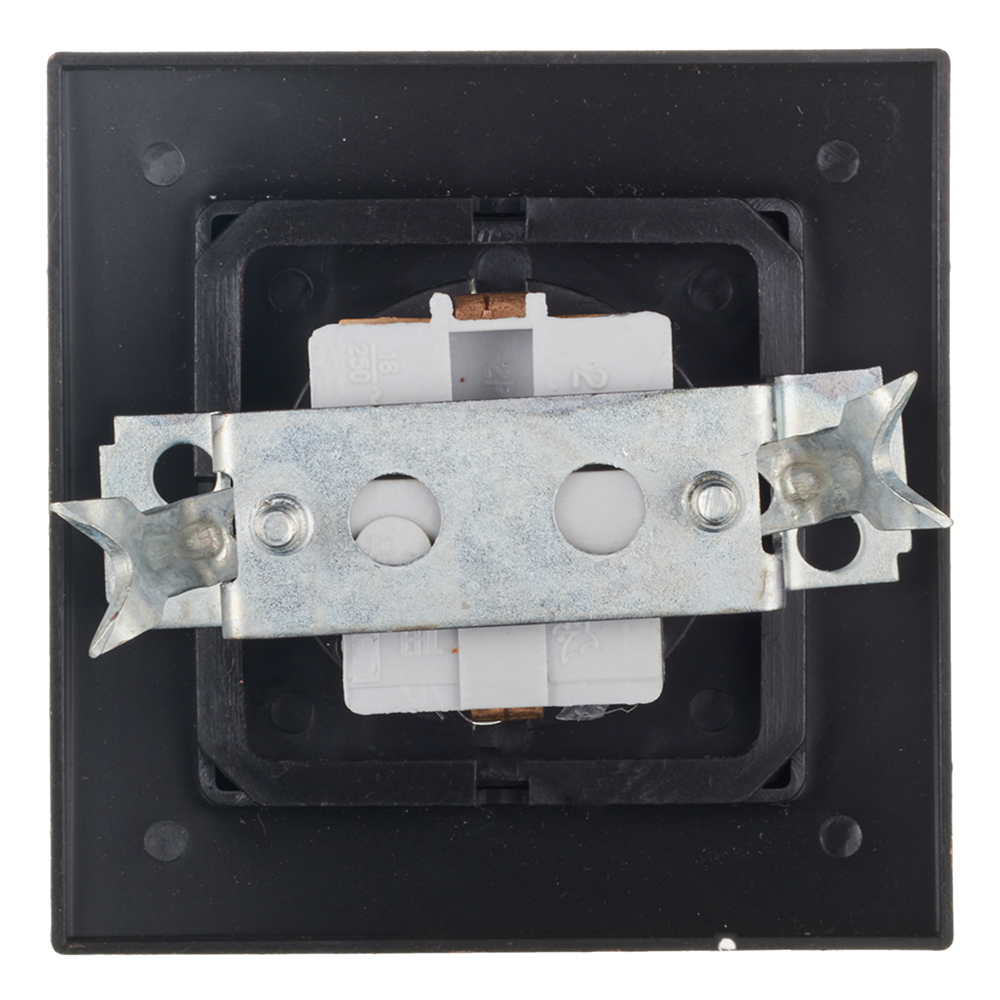 Розетка с рамкой Lavelly Antico RS16-133-G скрытая установка золото с заземлением фото