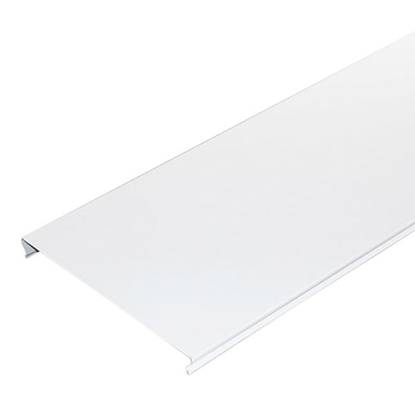 Фото - Рейка сплошная S-дизайн 3 м 100AS Эконом белая рейка сплошная омега а 3 м 100ат эконом белая