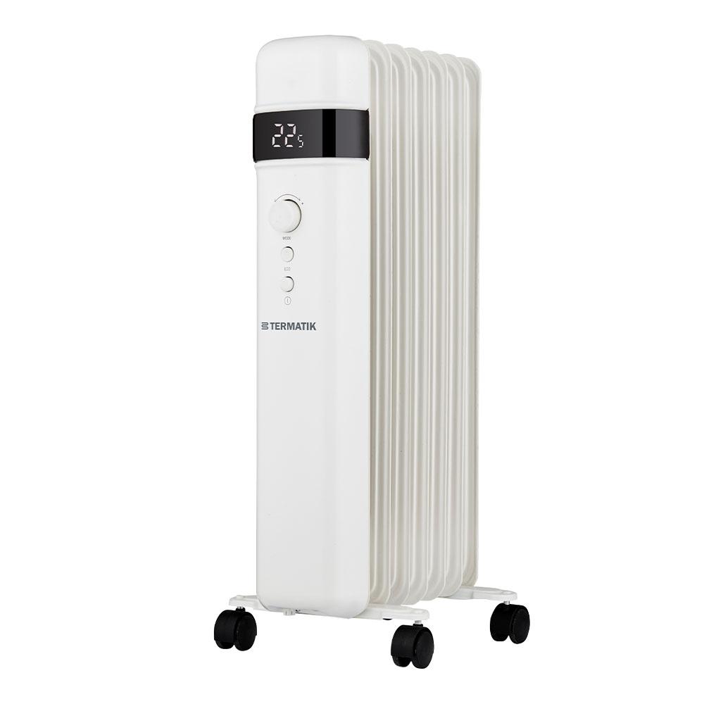 Обогреватель масляный Termatik 1500 Вт 7 секций биметаллический радиатор rifar рифар b 500 нп 10 сек лев кол во секций 10 мощность вт 2040 подключение левое