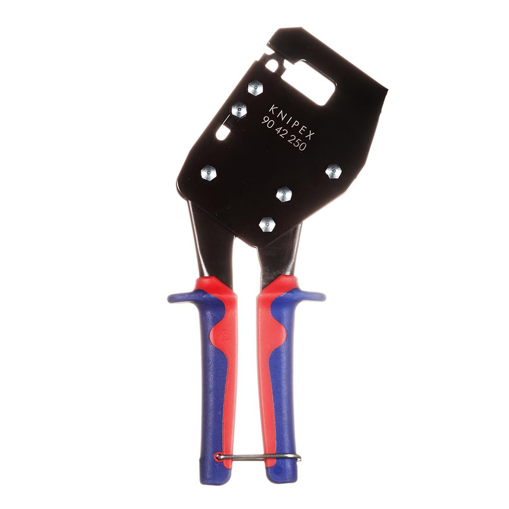 Клещи для монтажа металлических профилей Knipex (KN-9042250) 250 мм.
