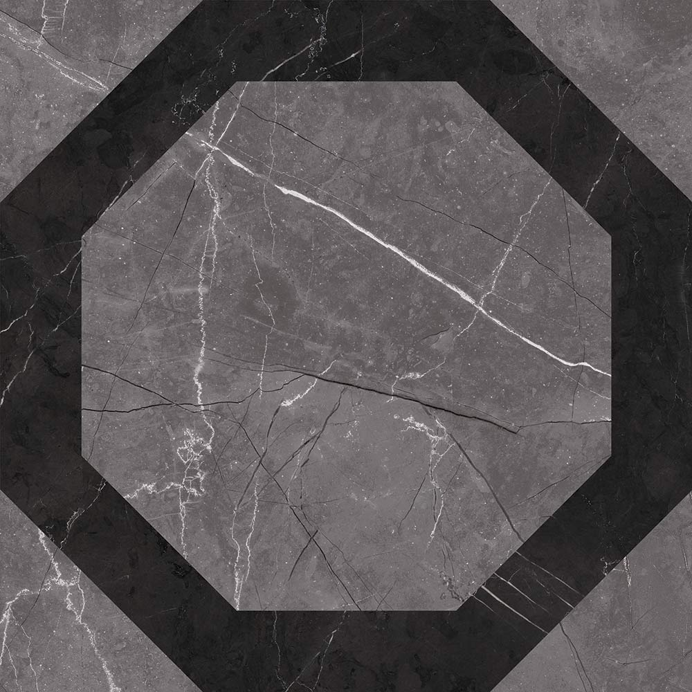 Керамогранит Grasaro Atrium декор серый 400х400х8 мм керамогранит grasaro atrium серый 400х400х8 мм 10 шт 1 6 кв м