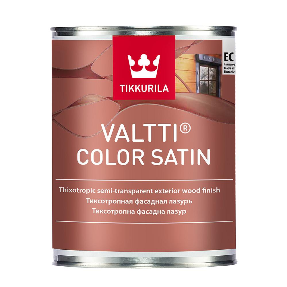 Антисептик Tikkurila Valtti Color Satin для дерева EC 0,9 л