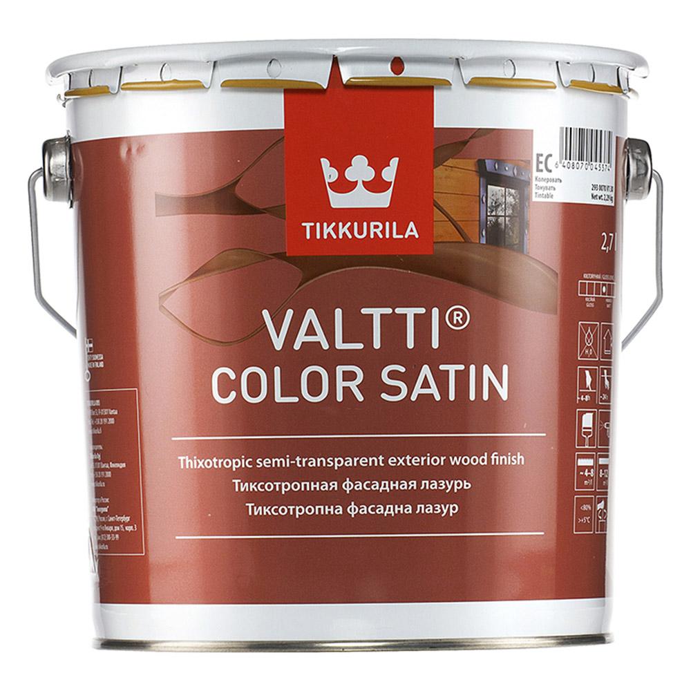 Антисептик Tikkurila Valtti Color Satin для дерева EC 2,7 л