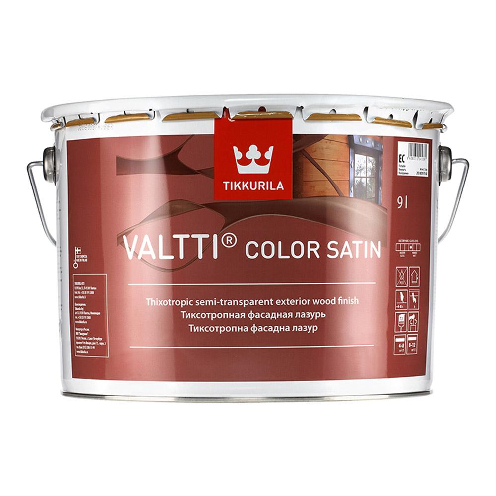 Антисептик Tikkurila Valtti Color Satin для дерева EC 9 л
