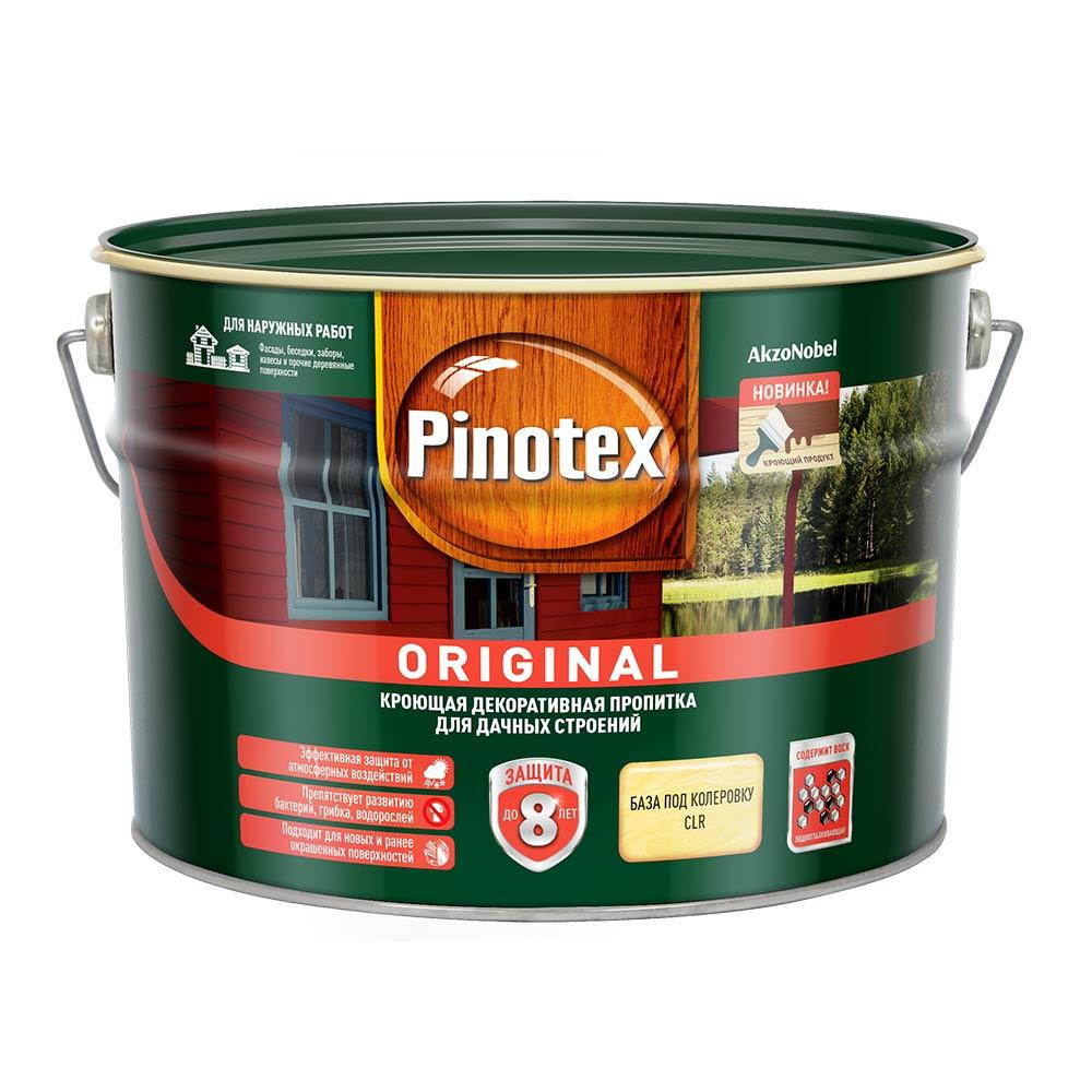 Антисептик Pinotex Original для дерева CLR 8,4 л