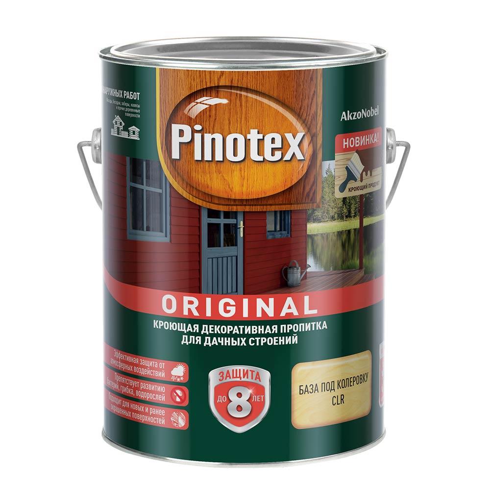 Антисептик Pinotex Original для дерева CLR 2,5 л