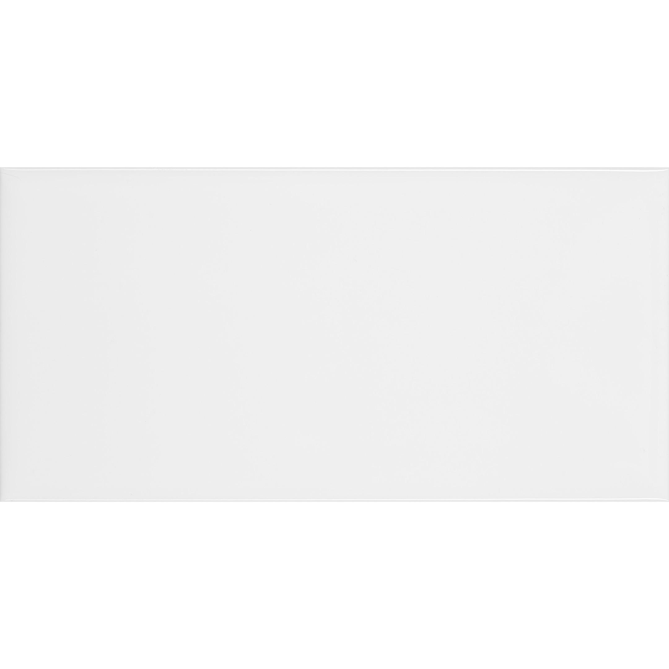 Плитка облицовочная Corsa Deco Plain Brick white 75x150x7 мм (136 шт.=1,53 кв.м)
