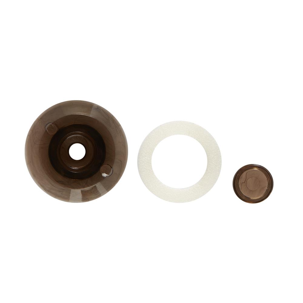 Термошайба для поликарбоната d38 бронза (25 шт.) универсальная