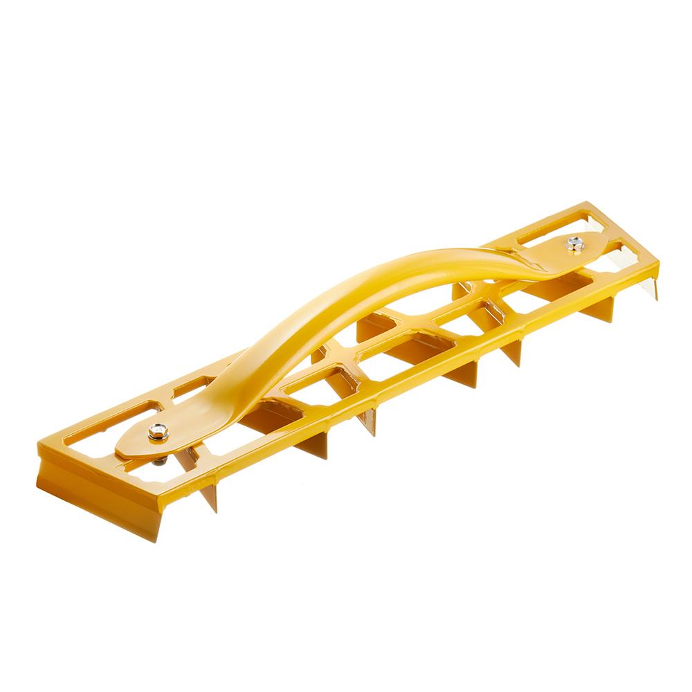 Скребок для гипсовой штукатурки Hardy 450x90 мм металлический 8 лезвий