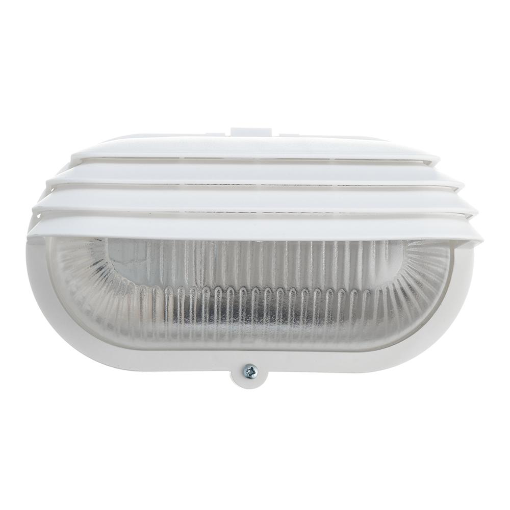 Светильник накладной REV НПБ E27 200х115х90 мм 60 Вт 220 В IP54 овальный с решеткой