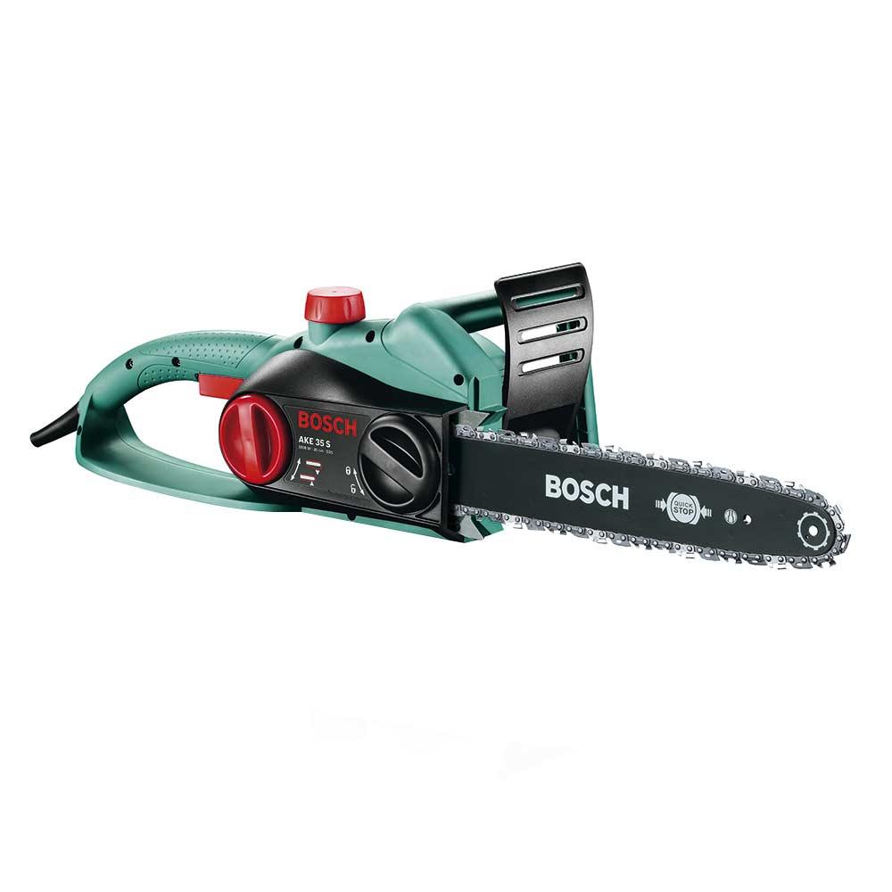 """Электропила цепная Bosch AKE 35 S (600834500) 1800 Вт 14"""" шаг 3/8"""" паз 1,1 мм 52 звена"""