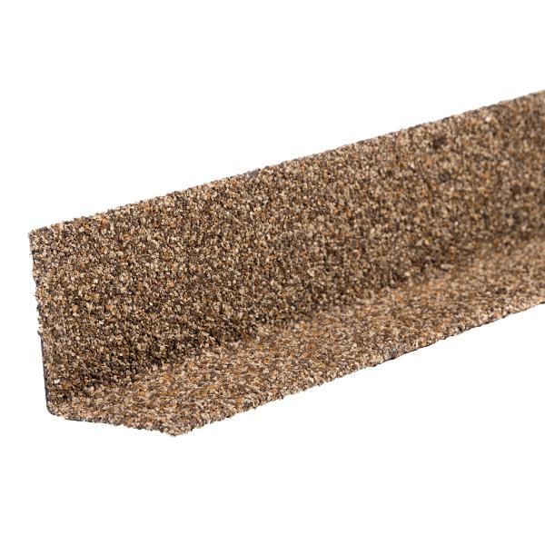 Угол внутренний металлический Технониколь Hauberk 1250 мм песчаный