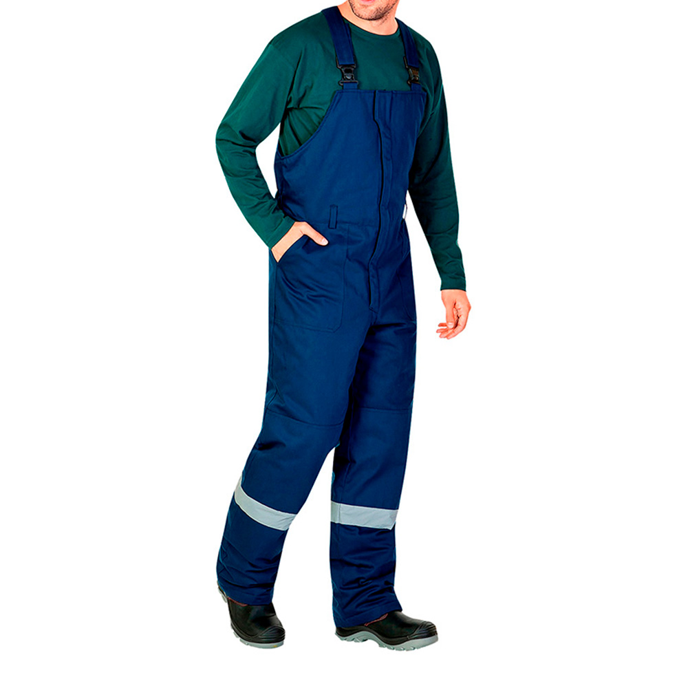 Полукомбинезон рабочий утепленный Алтай 52-54 рост 182-188 см цвет синий