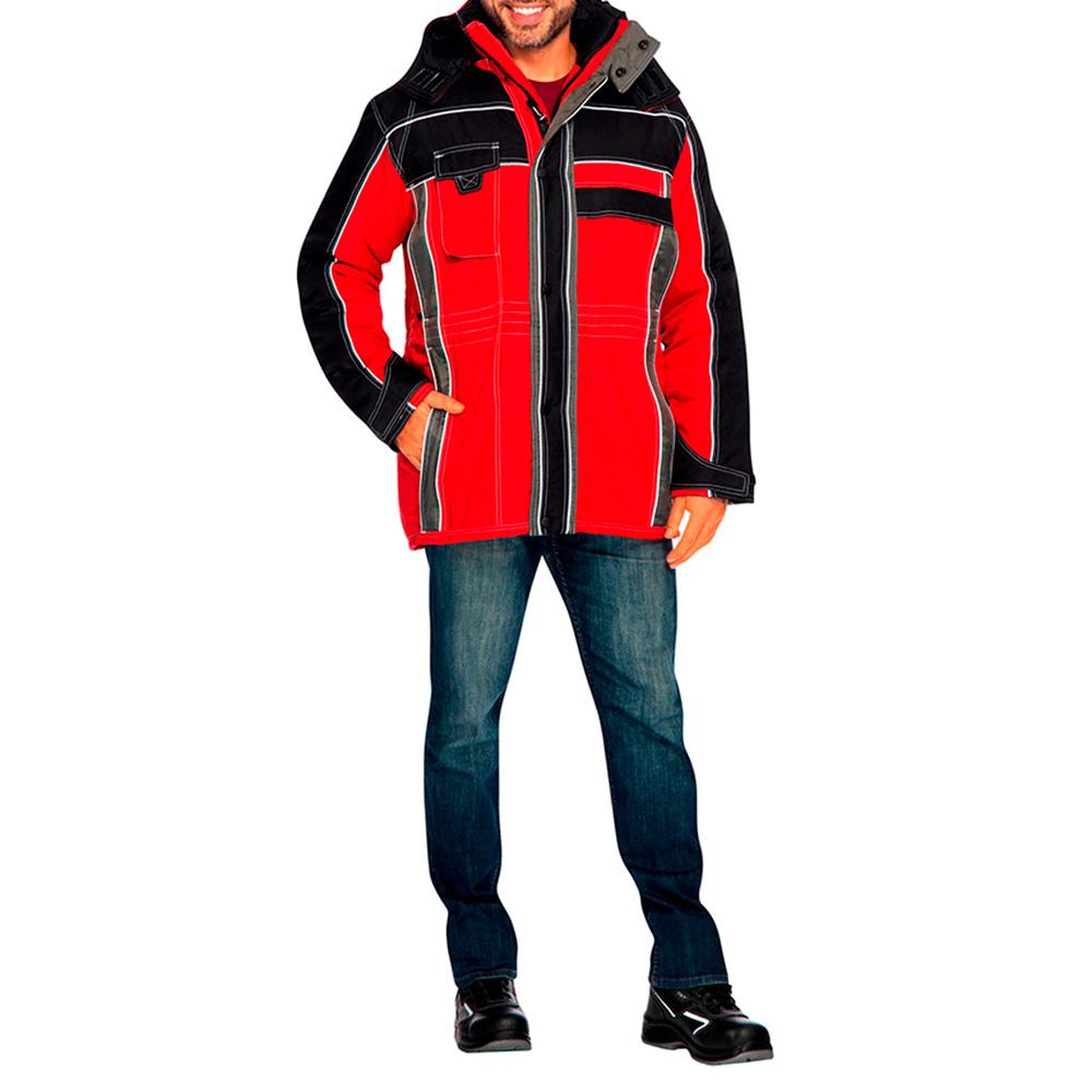 Куртка рабочая утепленная Невада 44-46 рост 170-176 см цвет красный