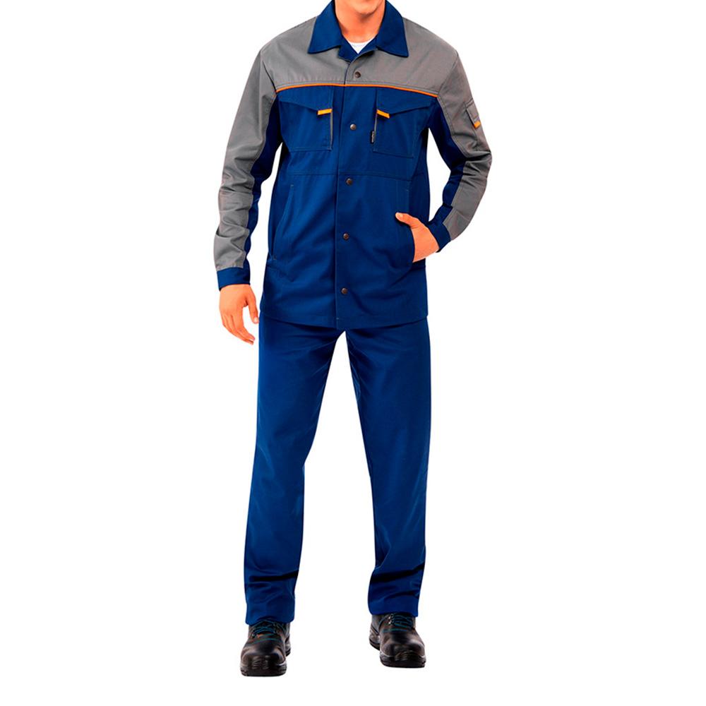 Костюм рабочий Спец-1 48-50 рост 158-164 см цвет темно-синий/серый