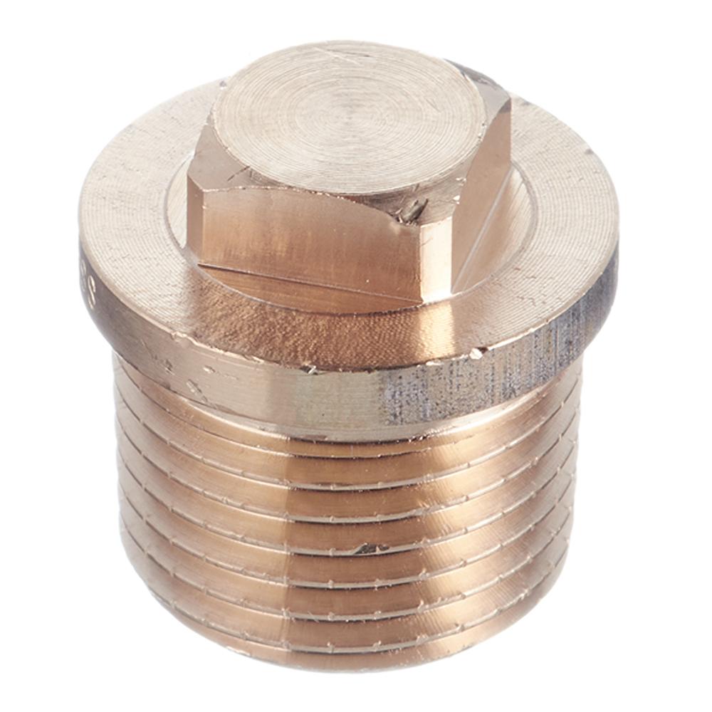 Заглушка Viega (320102) 1/2 НР(ш) бронзовая