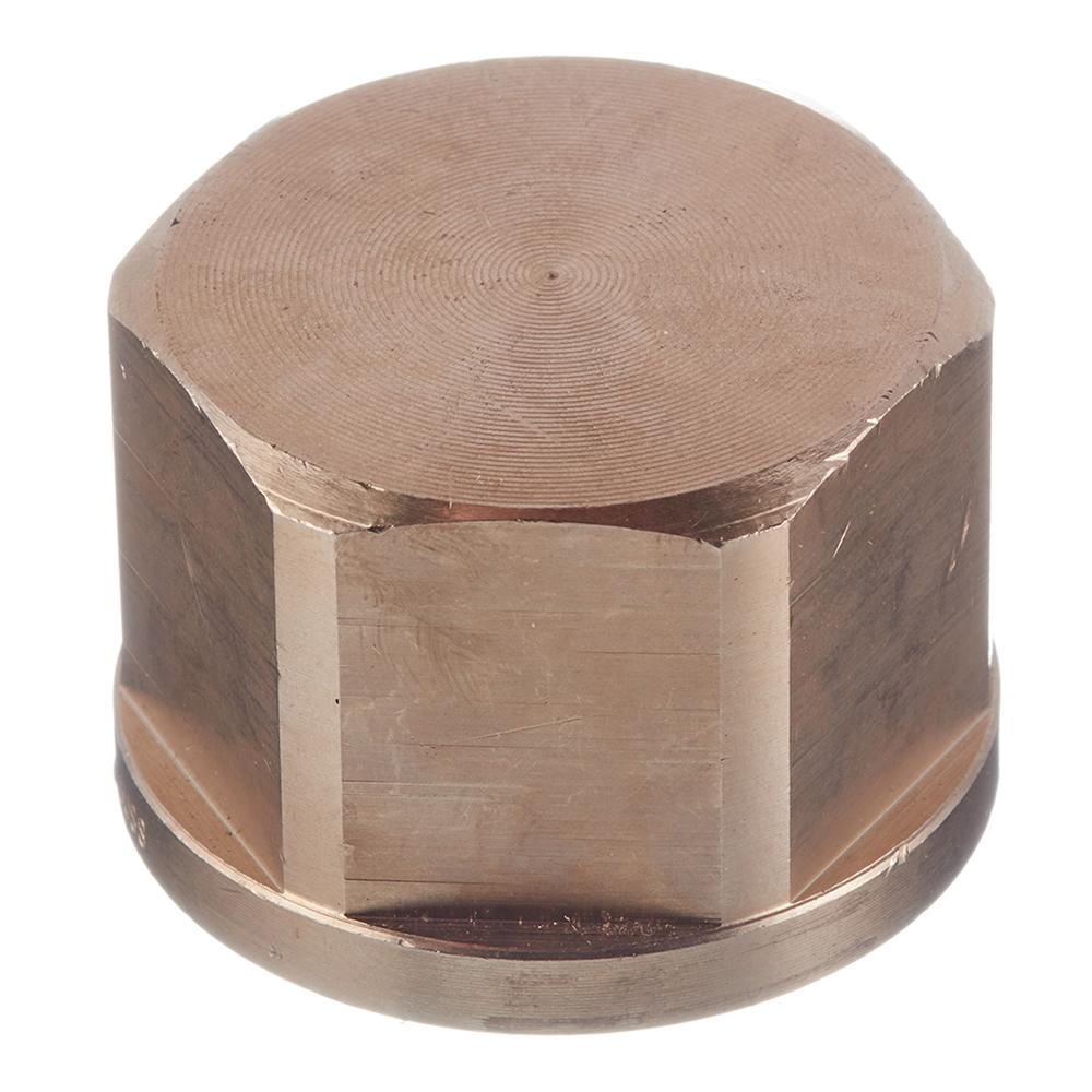 Заглушка Viega (268367) 1 ВР(г) бронзовая