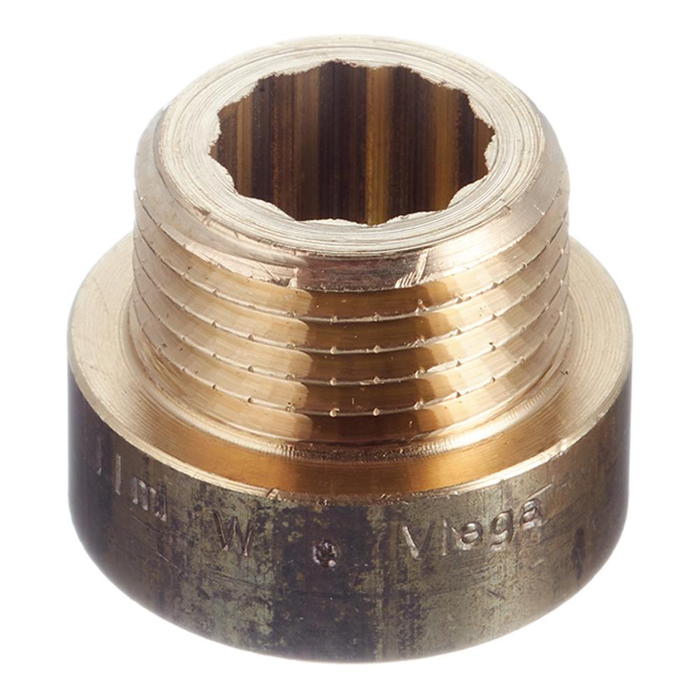 Удлинитель Viega (100490) 10 мм х 1/2 ВР(г) х 1/2 НР(ш) бронзовый