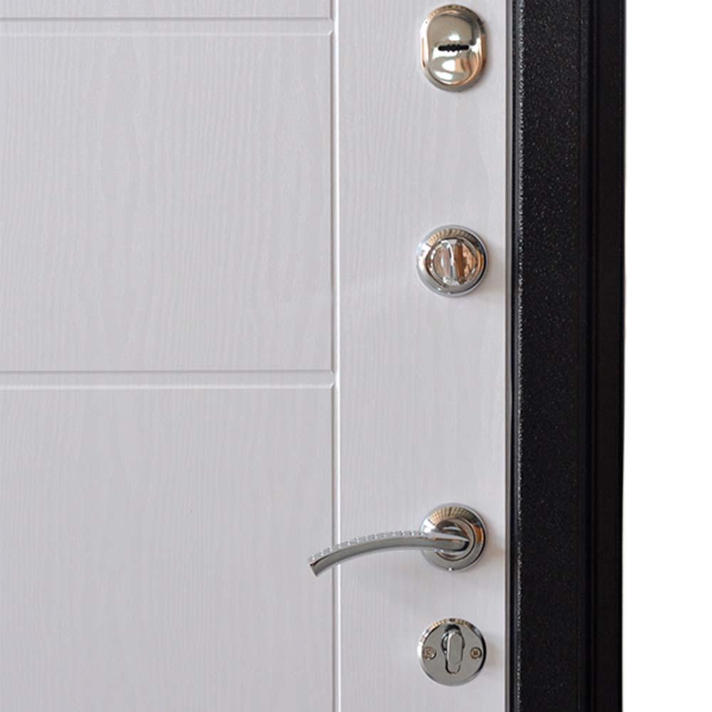 Дверь входная Форпост Квадро 2 левая темный антик - беленый дуб 860х2050 мм